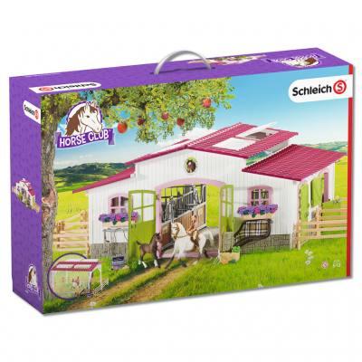 Schleich® Reiterhof mit Pferden