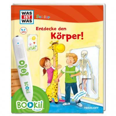 "BOOKii® Interaktives Lernbuch ""Entdecke den Körper"""