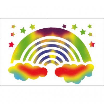 Scratch-Art® – Kratzpapier (Regenbogenfarben mit weißer Deckschicht)