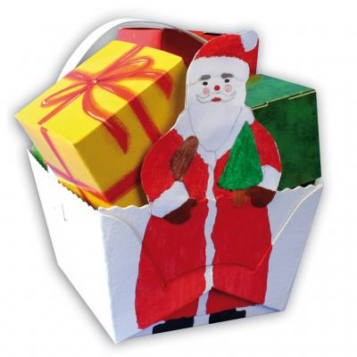 Henkelkörbchenset - Weihnachtsmann