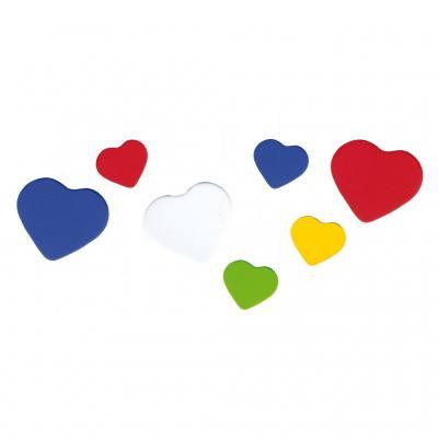 Moosgummi-Stanzteile - Herzen