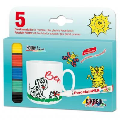 Hobby Line Porcelain Pen Easy