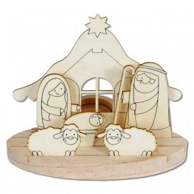 Weihnachtskrippe - klein