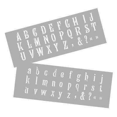 """sonderzeichen /"""" silber 1 Sticker /""""Grossbuchstaben"""