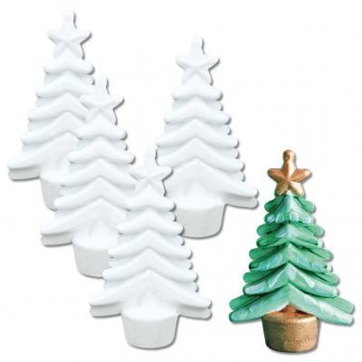 Styroporweihnachtsbäume