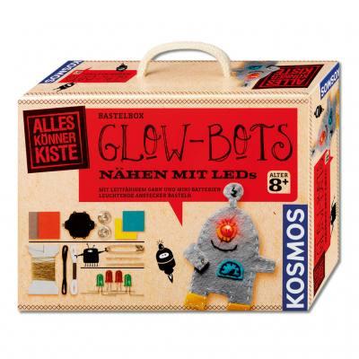 Glow-Bots - Nähen mit LEDs