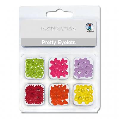 Brads - Eyelets (Motiv Frühling)