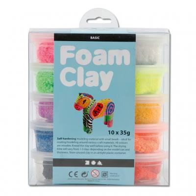 Foam Clay® Modelliermasse - Basic-Sortiment