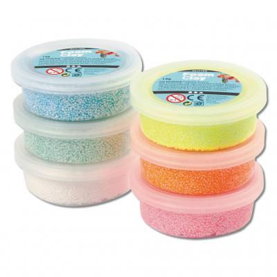 Foam Clay® Modelliermasse - Glitter-Sortiment