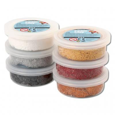 Foam Clay® Modelliermasse - Metallic-Sortiment