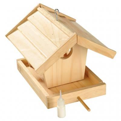 Vogelfutterhaus-Bausatz für Kinder