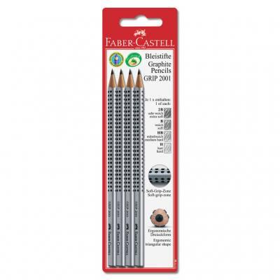 4 Bleistifte Grip