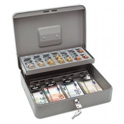 Geldzählkassette mit Geldscheinbügeln