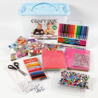 Bastelbox für Kinder und Erwachsene