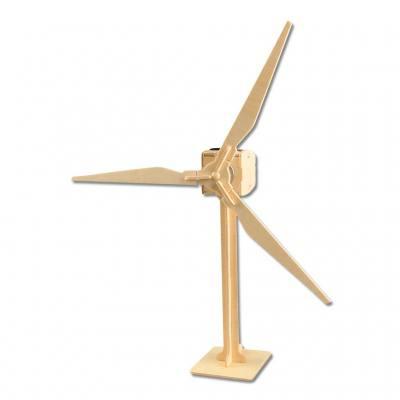 Solarbetriebener Windrad-Bausatz