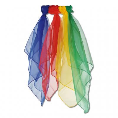 12 Chiffontücher - in 4 verschiedenen Farben lieferbar