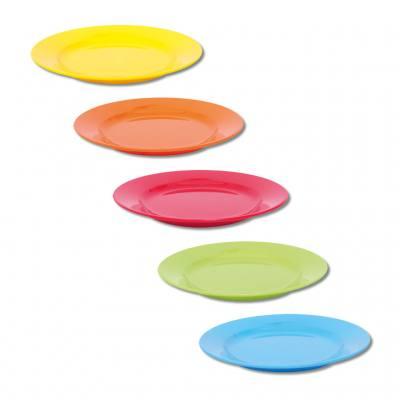 Knirpsengedeck - Teller flach klein (in 5 verschiedenen Farben)
