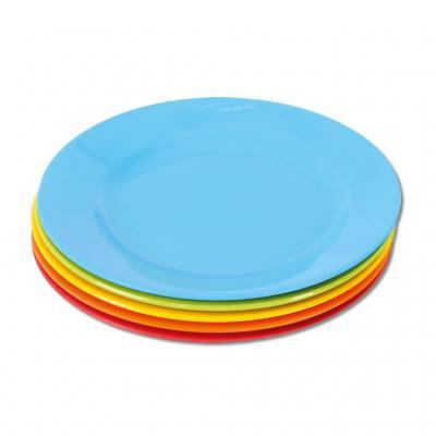 Knirpsengedeck - Teller flach groß (in 5 verschiedenen Farben)