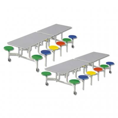 12-er Tisch-Sitzkombinationen - rechteckig