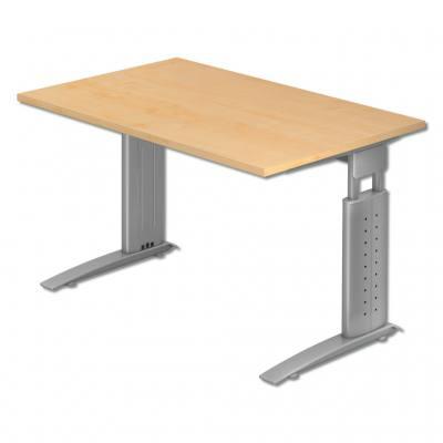 L-Fuß Schreibtische - in verschiedenen Dekoren