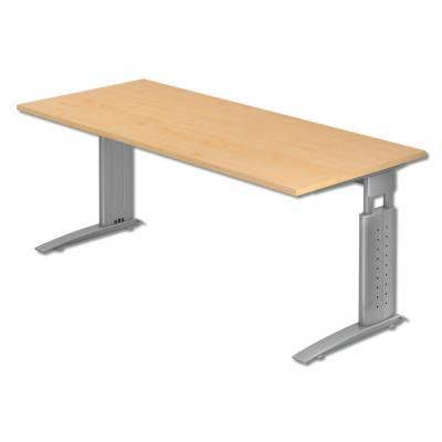 L-Fuß Schreibtisch - in verschiedenen Dekoren
