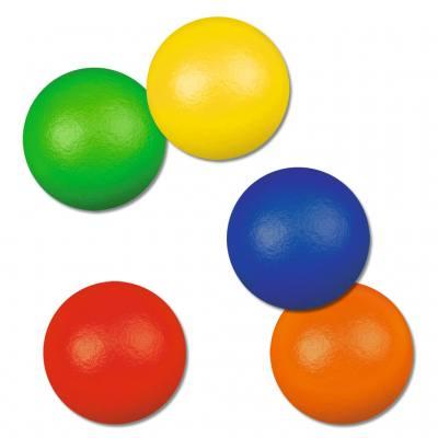 Softbälle (Gymnastikbälle) - in 5 verschiedenen Farben