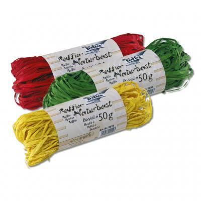 Naturbast - in 11 verschiedenen Farben