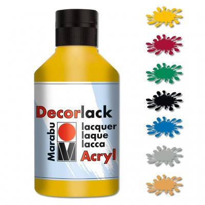 Marabu Acryllack - in 6 Farben lieferbar
