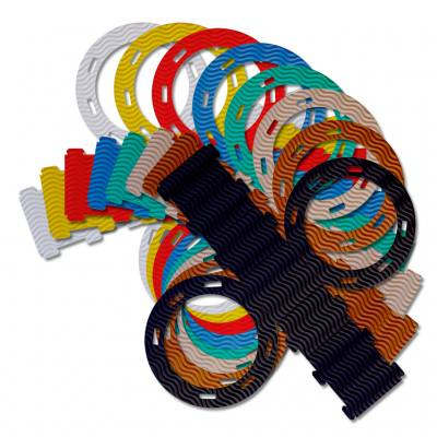 Kleine Laternen-Stanzformen - in 8 Farben lieferbar