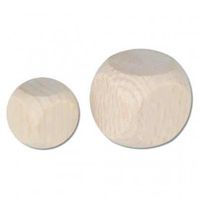 Holzwürfel - in verschiedenen Varianten