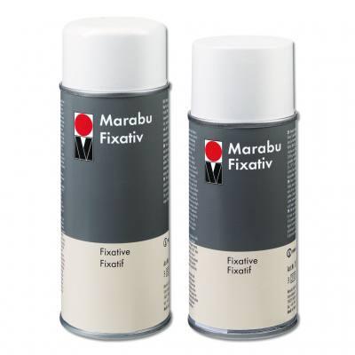 Marabu Fixativ, in 2 verschiedenen Größen