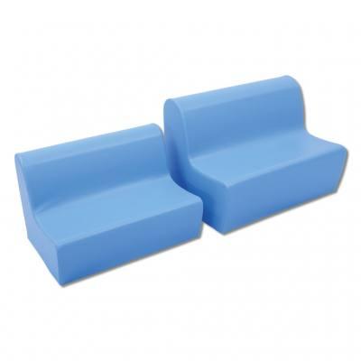 """KITA-KIDS """"Sitzbänke"""" - in 2 Sitzhöhen und 5 Farben lieferbar"""