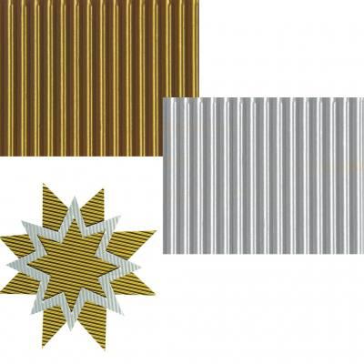 Bastelwellpappe - in 2 Farben lieferbar