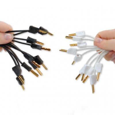 Verbindungsleiter mit vergoldetem Stecker