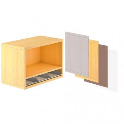 Aufsatz-Regal für Anstellcontainer