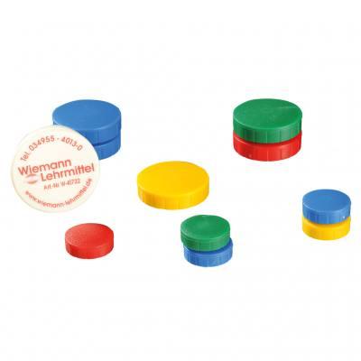 10 Stück bunte Haftmagnete