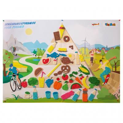 PlayMais® Lebensmittelpyramide für Kinder