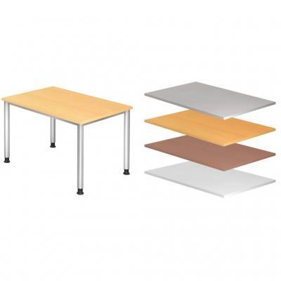 Verstellbarer Büro-Schreibtisch, 120 x 80 cm