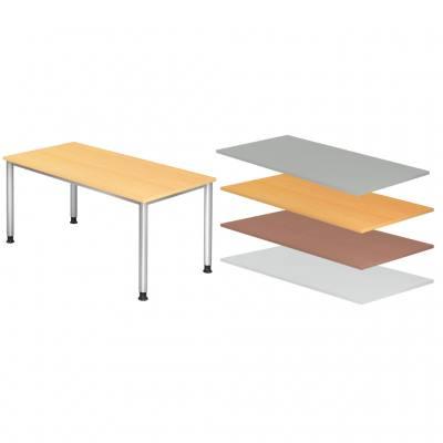 Schreibtisch 160 x 80 cm, höhenverstellbar