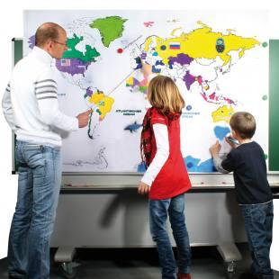 Riesenweltkarte Zum Erkunden Der Erde Hier Im Wl Versand Online
