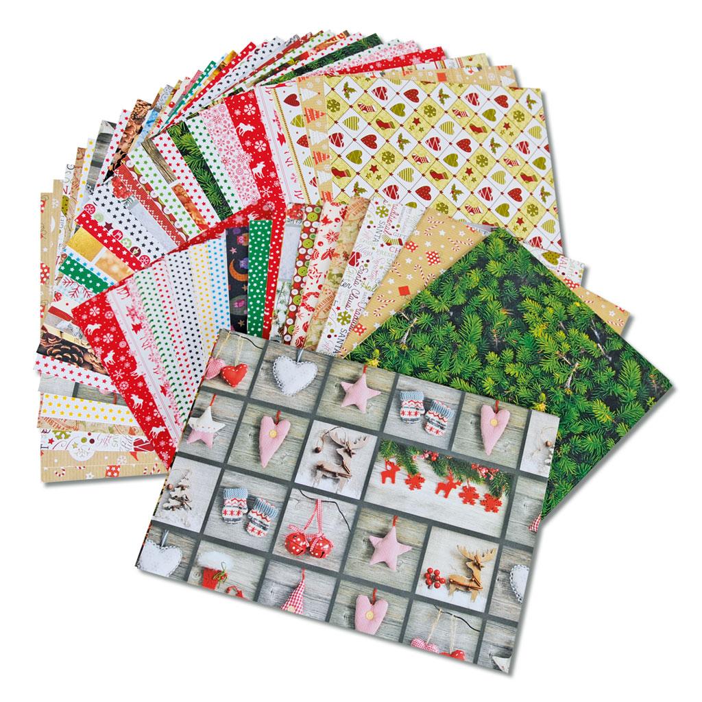 Motivpapier Weihnachten.Fotokarton Kreativität Ohne Ende