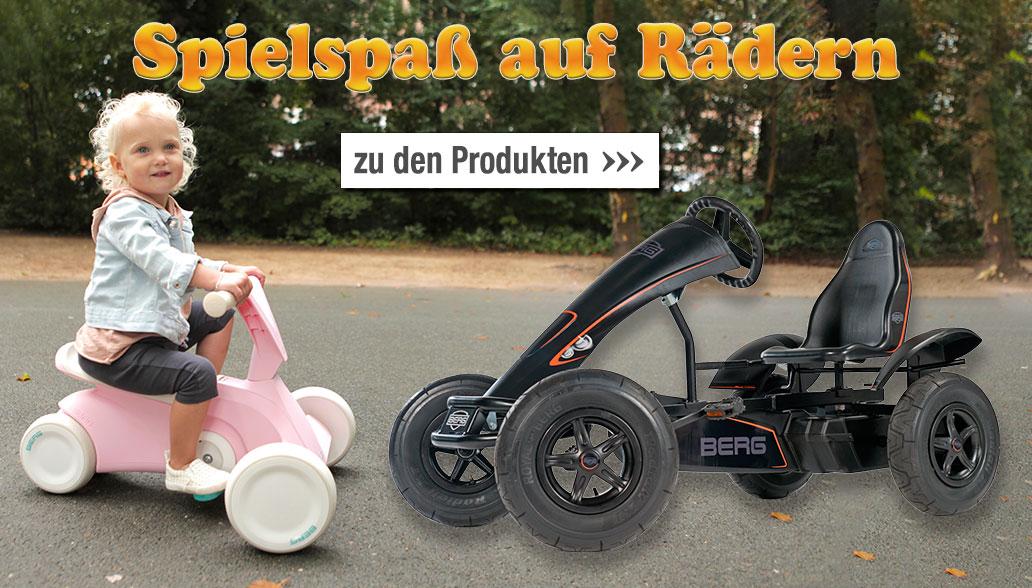 Spielspaß auf Rädern