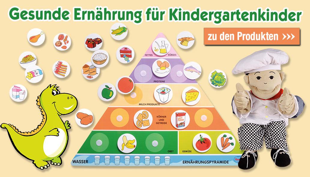 Gesunde Ernährung für Kindergartenkinder