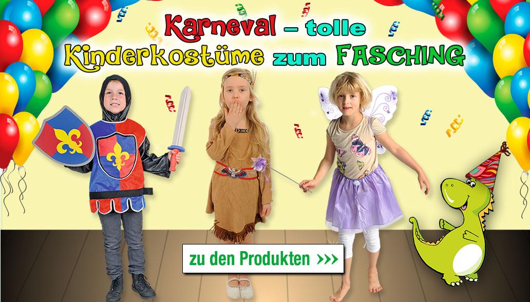 Karneval – tolle Kinderkostüme zum Fasching