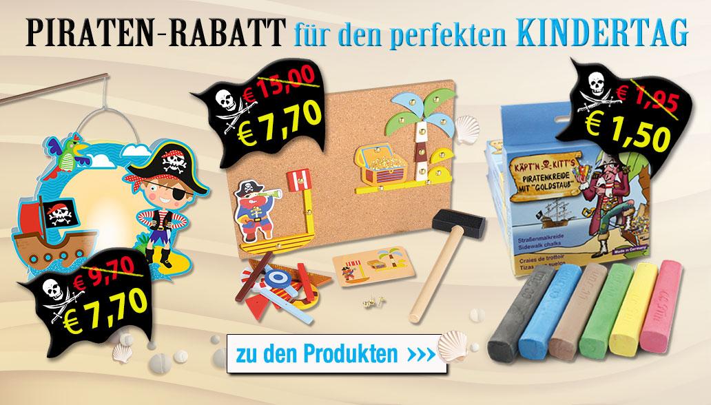 Piratenrabatte für einen perfekten Kindertag