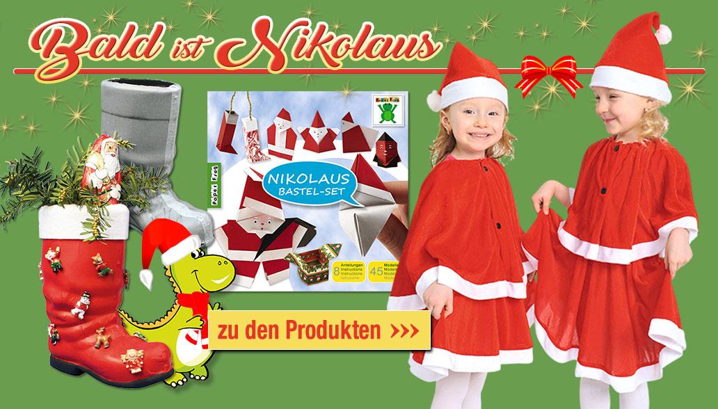 Bald schon ist Nikolaus