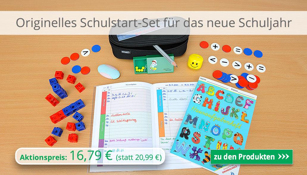 Originelles Schulstart-Set für das neue Schuljahr