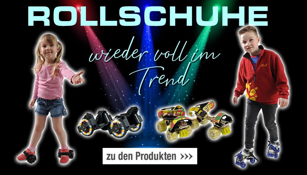 Rollschuhe wieder voll im Trend!