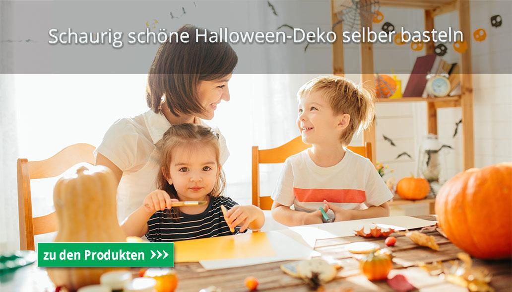 Schaurig schöne Halloween-Deko basteln