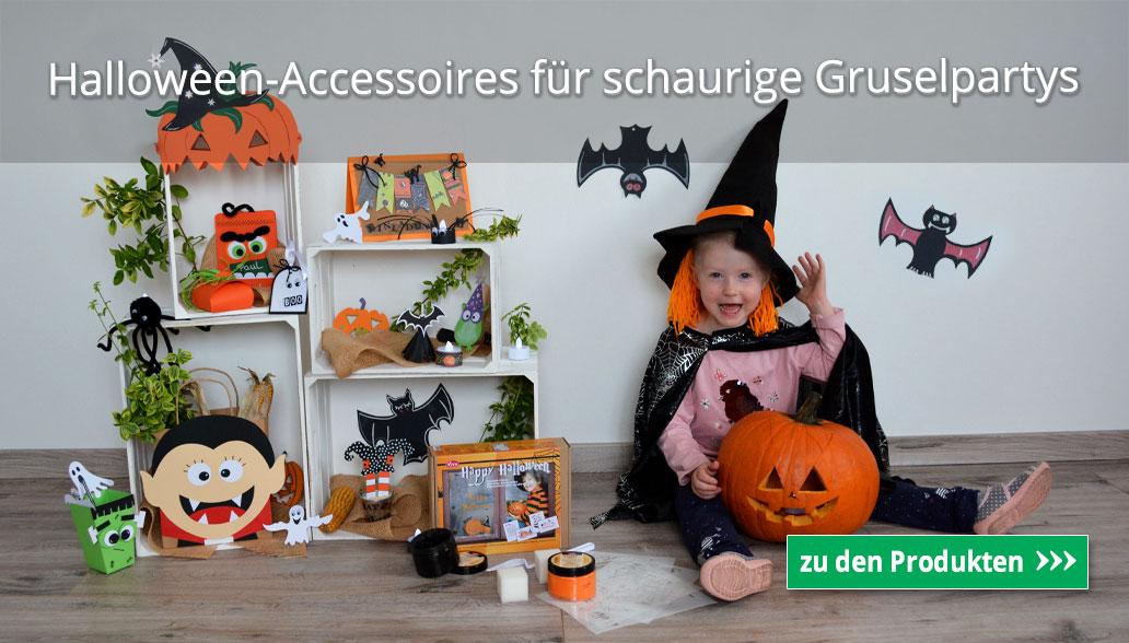 Halloween-Accessoires für schaurige Gruselpartys